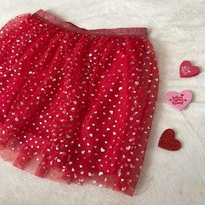 XL Girls Valentine's Day Skirt/TuTu - NWOT
